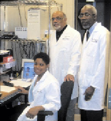 Images of Dr. Robert Taylor, DR. Walter Bland, and Natosha Smith